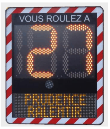 I-SAFE 2 Speed Display