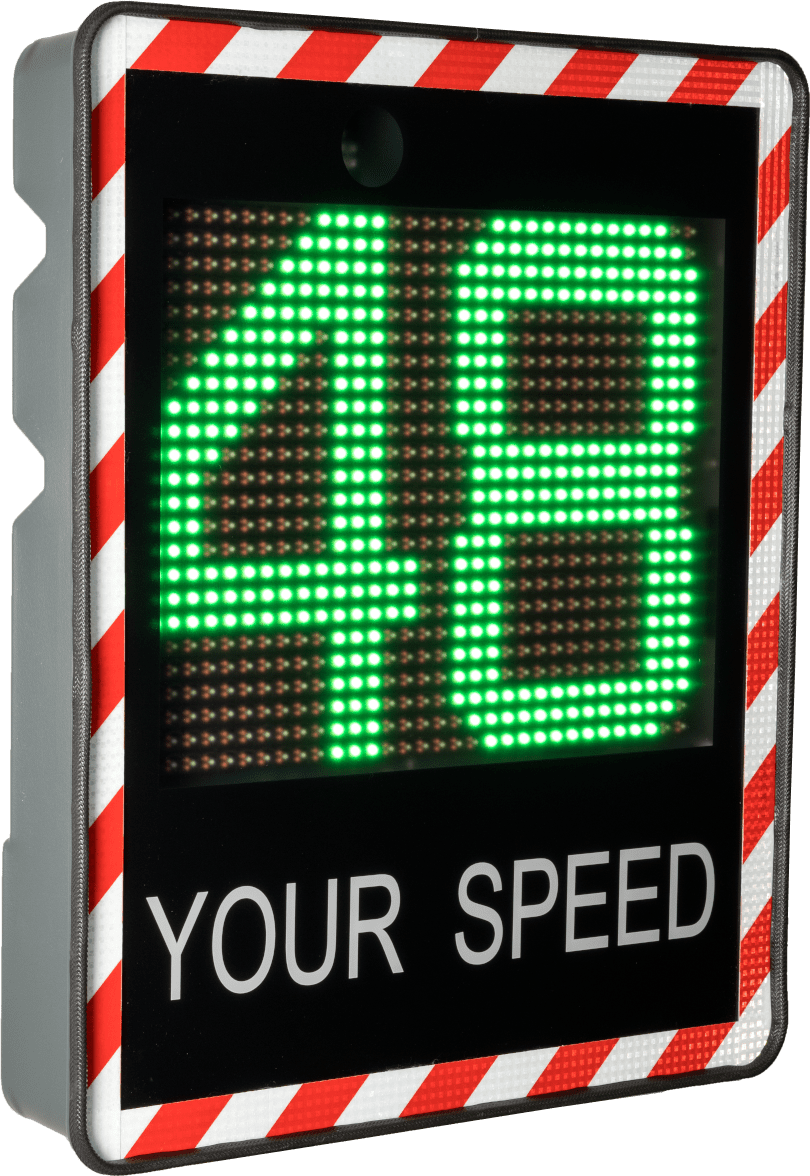 speed indicator sign