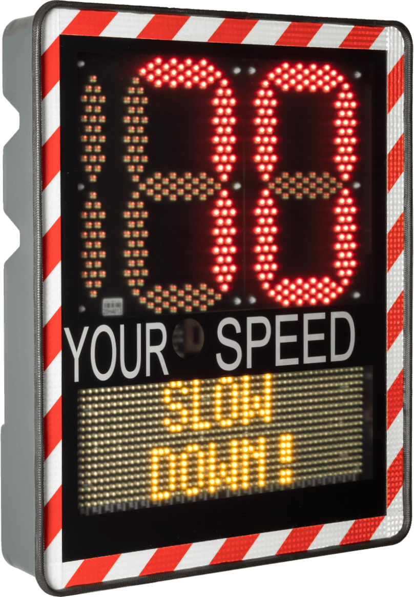 radar speed indicator sign