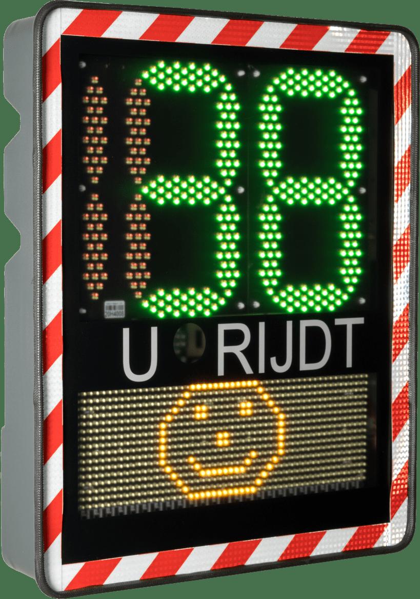 digitaal snelheidsbord